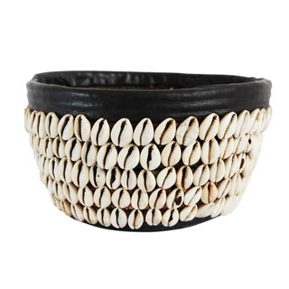 Cowry Shell Basket For Sale