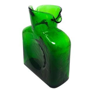 Green Blenko Pitcher For Sale
