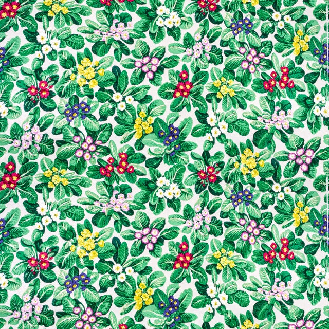 American Vintage Bassett McNab Primroses Floral Fabric, 1 Yard For Sale - Image 3 of 3