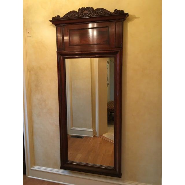 Antique Rosewood Mirror. A great traditional accent!