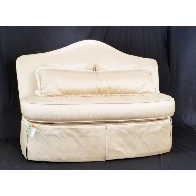 Modern Century Furniture Signature Upholstery Settee For Sale - Image 11 of 11