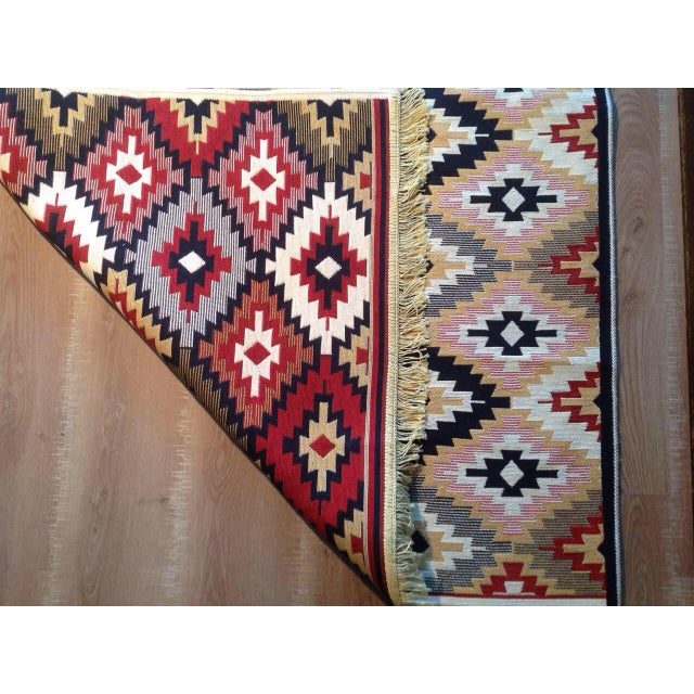 Reversible Kilim Inspired Rug - 3′11″ × 5′11″ - Image 10 of 11