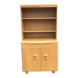 1950s Mid Century Modern Heywood-Wakefield China Closet Cabinet For Sale