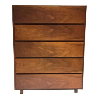 John Widdicomb Mid-Century Modern Boy Chest 5 Drawer For Sale