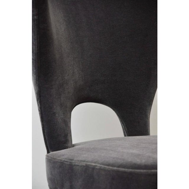 """Edward Wormley """"Heart Chair"""" Wingback for Dunbar For Sale In Chicago - Image 6 of 8"""