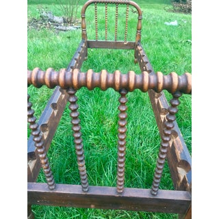 1830s Early Jenny Lind Spool Turned Bed Preview