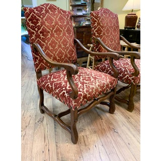 Pair, 1940's Spanish Revival Armchairs With Nail Heads Preview