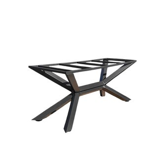 Industrial Trestle Dining Table Base For Sale