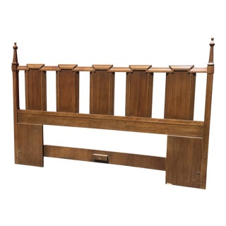 1970's Hollywood Regency King Size Headboard