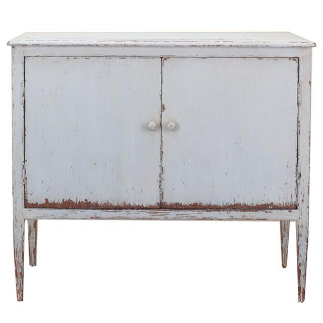 Sarreid LTD Pine Zack Cabinet - Image 2 of 5