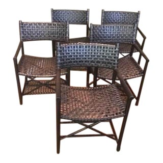 McGuire Antalya Armchairs - Set of 5
