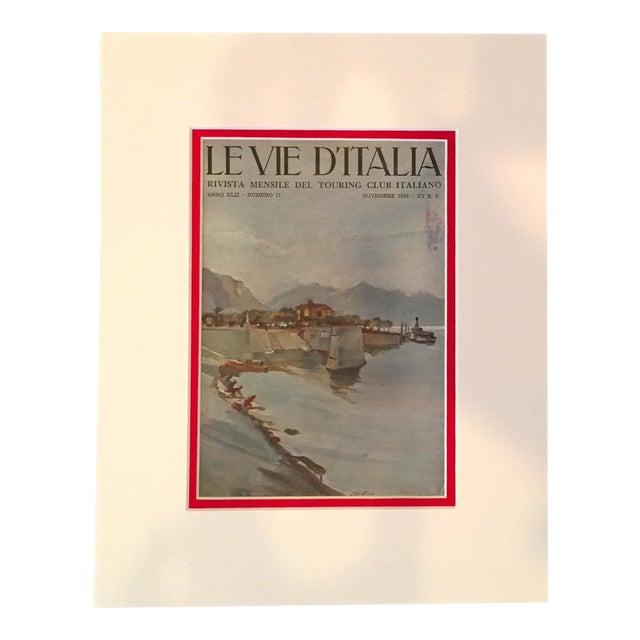 1936 Italian Travel Advertisement, Le Vie d'Italia - Image 1 of 4
