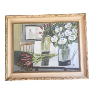 Original Stewart Ross Still Life Painting