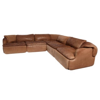 Alberto Rosselli for Saporiti Sectional Sofa For Sale