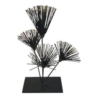 Metal Floral Sculpture