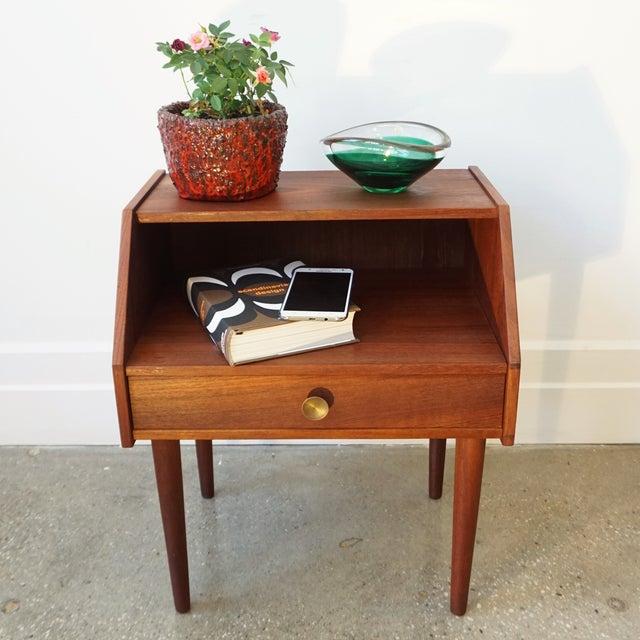 Danish Modern Teak Side Table - Image 8 of 8