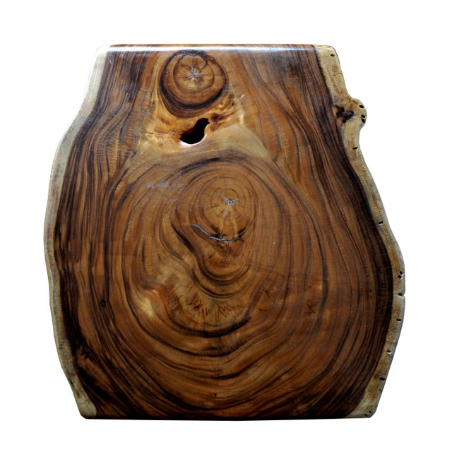 Boho Chic Acacia Coffee Table For Sale In New York - Image 6 of 10