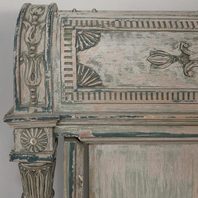 Gold 19th Century Painted Directoire Day Bed For Sale - Image 8 of 13