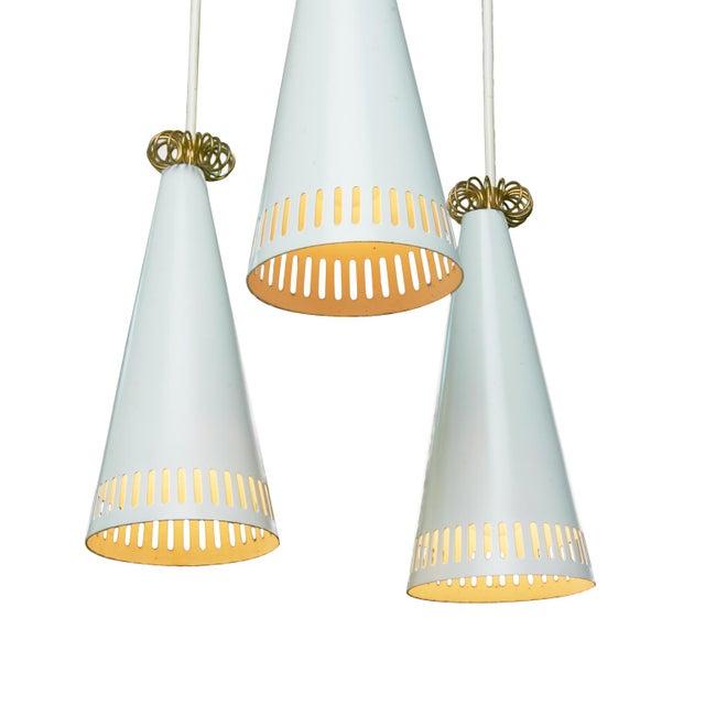 Danish Modern Mauri Almari pendant lamp for lightolier For Sale - Image 3 of 5