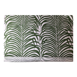Zebra Palm for Schumacher Fabric - 4 Yards