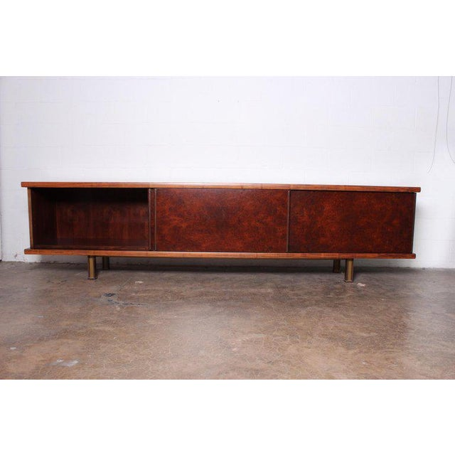 Brown Large Cabinet by Osvaldo Borsani for Tecno For Sale - Image 8 of 13