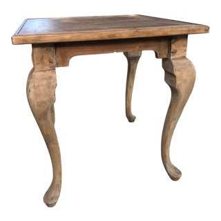 Vintage French Card/Dining Table For Sale