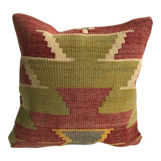 1970s Turkish Kilim Pillow Cover For Sale