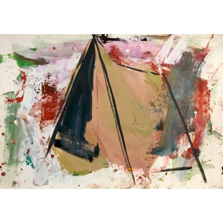 "Diana Delgado ""Tent (Study I)"" Painting For Sale"