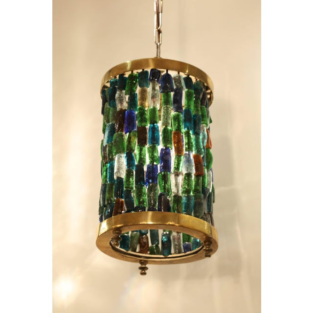 Small Multicolored Lantern For Sale In New York - Image 6 of 8