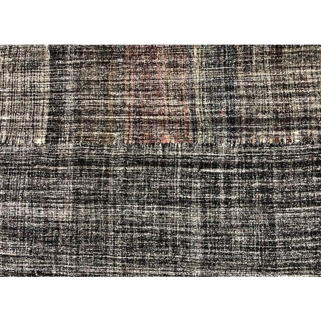 Bohemian Decor Turkish Traditional Handwoven Area Kilim Rug- 7′6″ × 10′2″ For Sale - Image 6 of 7