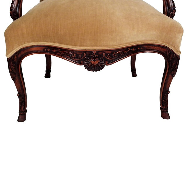 French Antique Louis XV Bergeres - Pair - Image 5 of 7