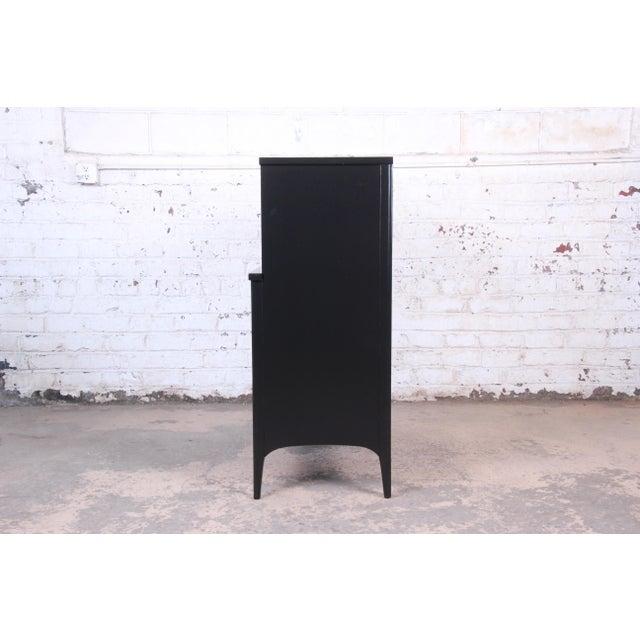 Kent Coffey Perspecta Mid-Century Modern Ebonized Highboy Dresser For Sale - Image 10 of 13
