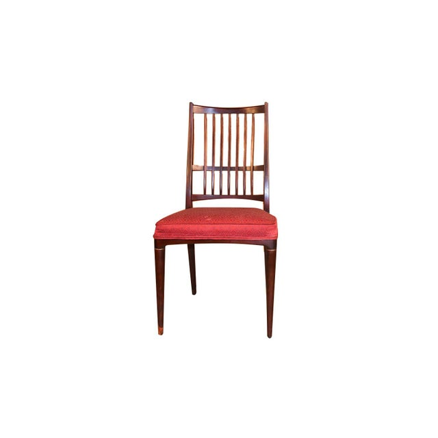 """A set of 6 beautiful mid century modern Rosewood """"Cortina"""" dining chairs designed by Svante Skogh for Seffle Möbelfabrik..."""