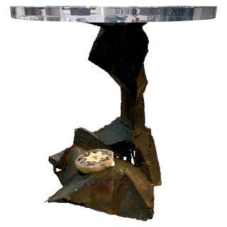 Midcentury Brutalist Table For Sale