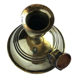 Antique Late 19th Century Chamberstick From Imperial Russia For Sale