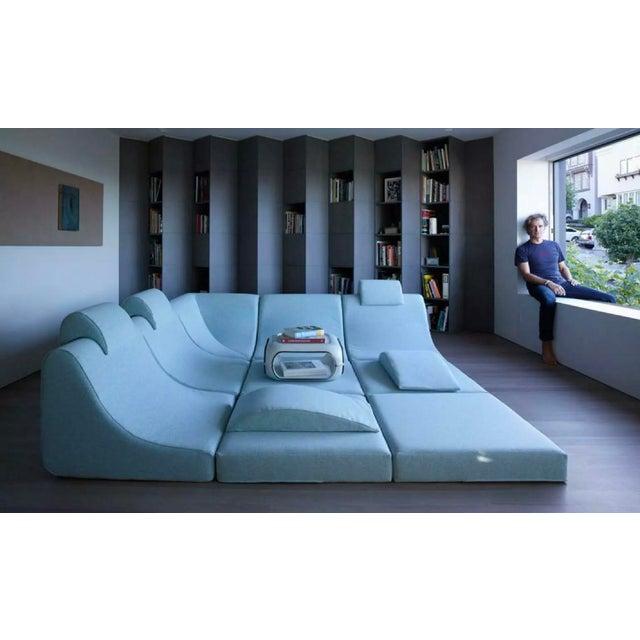 Mid Century Modern Space Age Panton Colombo Era Luigi Colani Pool Sofa For Sale - Image 9 of 11