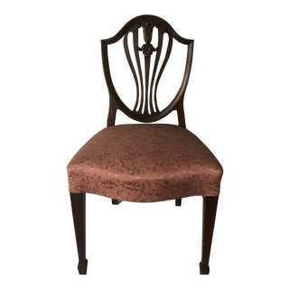 Early 20th Century Antique Shield Back Chair For Sale