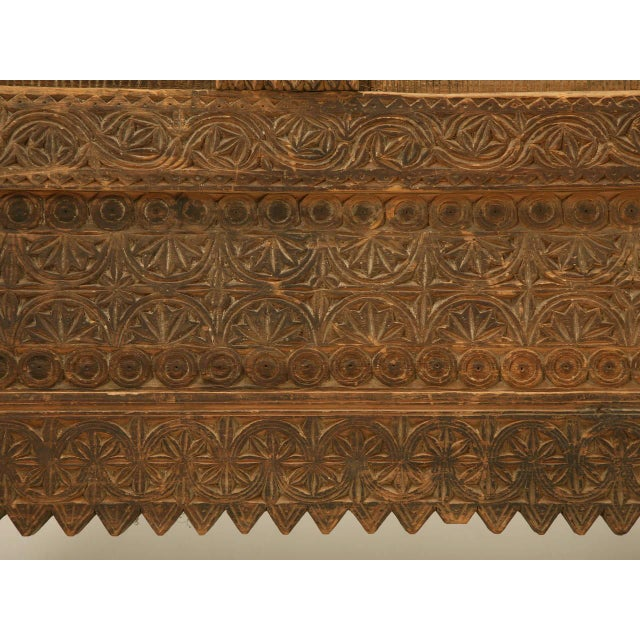 Wood Swat Chest from the Swat Valley of Pakistan For Sale - Image 7 of 10