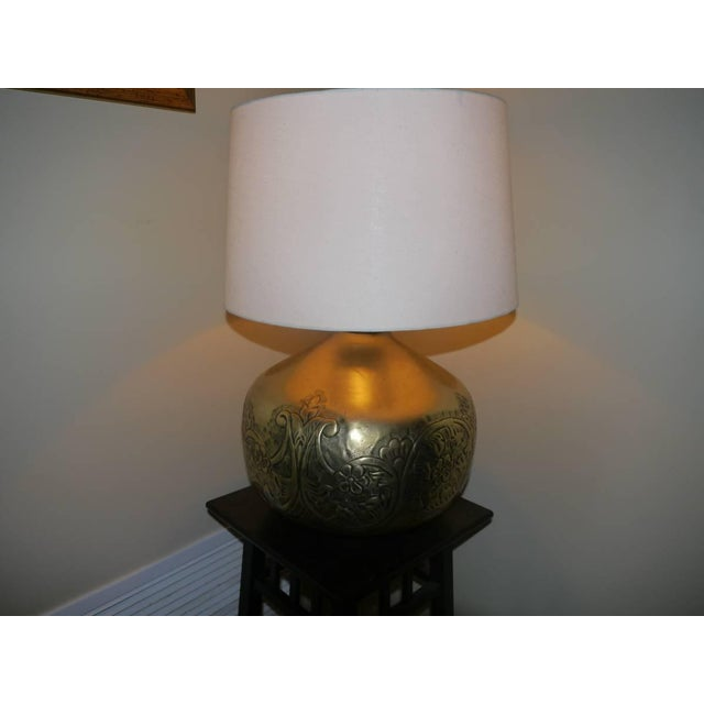 Brass Table Lamp - Image 2 of 3