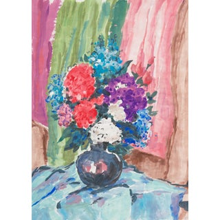 Still Life of Flowers by Vera Indenbaum