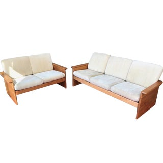 Danish Modern Sofa and Settee