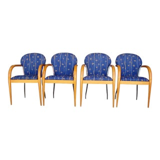 1970s Vintage Dining Chairs - Set of 4 For Sale