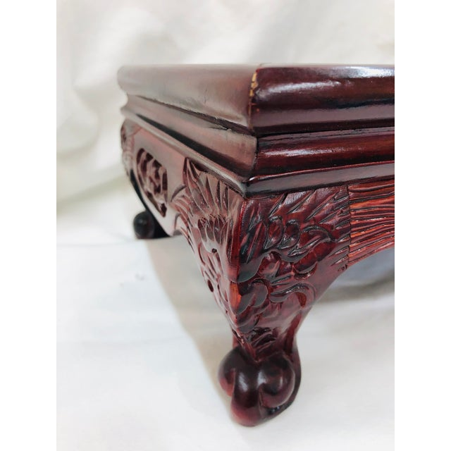 1980s 1980s Chinoiserie Style Plant Stand For Sale - Image 5 of 10