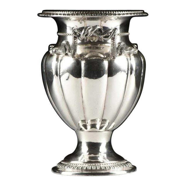 19th Century George IV Sheffield Plate Champagne Bucket For Sale In Raleigh - Image 6 of 6