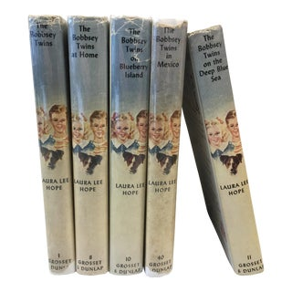 Vintage Bobbsey Twins Mysteries - Set of 5