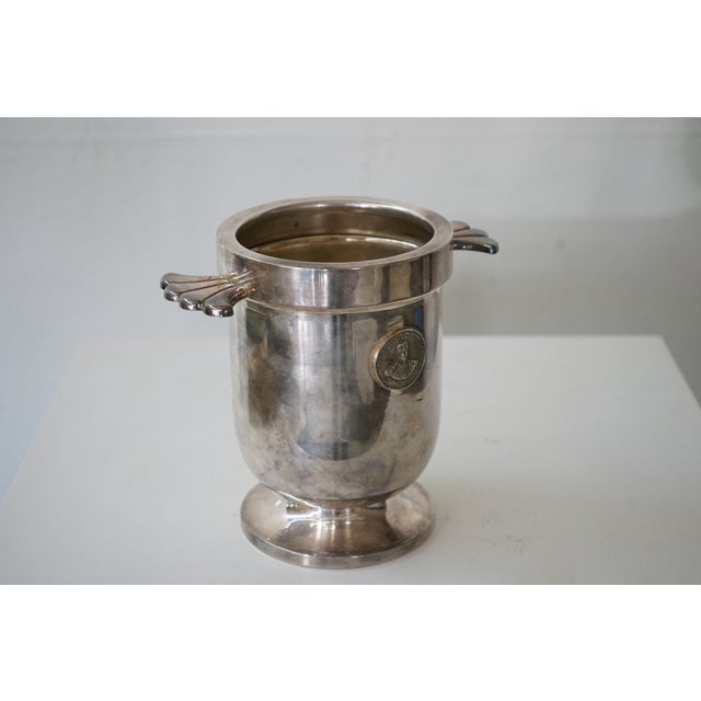 French Vintage Ice Bucket For Sale - Image 3 of 6