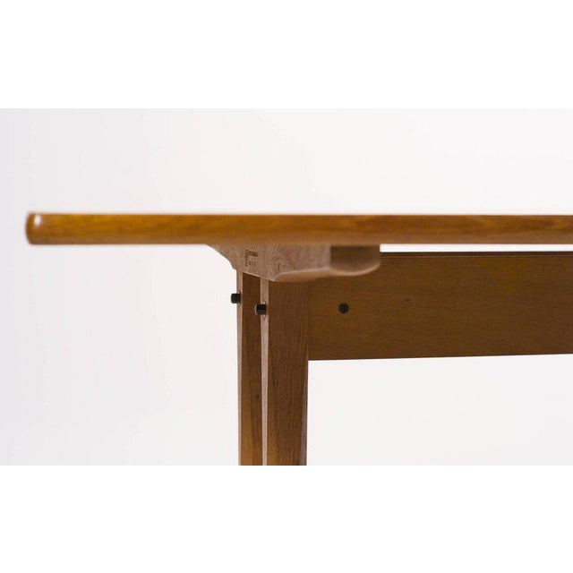 Contemporary Shaker Table, C18 by Børge Mogensen For Sale - Image 3 of 10