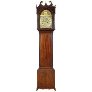 English George III Tall Case Clock For Sale