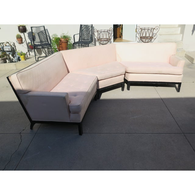 Mid-Century Modern Sectional - 3 Pieces - Image 4 of 6
