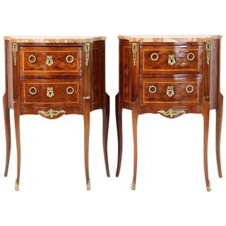 French Bedside Tables - a Pair